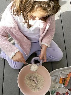 DIY Aromatherapy rice pillow from felted sweater.
