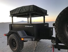 Adventurer Vehicle Trailers - The Schutt Industries XV-3 Trailer Carries Up to 1,500 Pounds of Gear