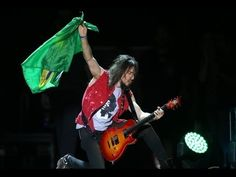 Guns and Roses Homenageia Ayrton Senna e Toca Tema da Vitoria - Guitarra...