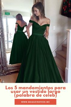 Los 5 mandamientos para usar un vestido largo (palabra de celeb) Bridesmaid Dresses, Wedding Dresses, 18th, Pastel, Prom, Outfits, Fashion, Long Dresses, Outfit