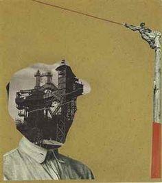 IMRE KINSZKI (1900-1945) Untitled, 1937 collage, papier journal et gouache sur carton monté sur support cartonné Gouache, Collages, Global Art, Art Market, Past, Mixed Media, Digital Art, Support, Drawings