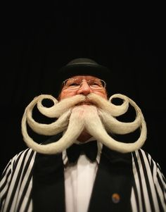 European Beard and Moustache Championship!