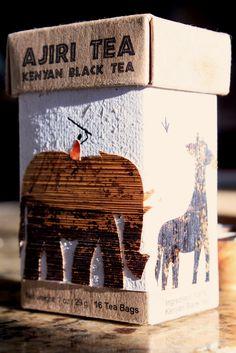 Safari-themed #tea #packaging