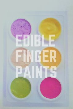 Are you looking for a homemade finger painting recipe? Look here for an edible finger paints recipe. The paints are all naturally dyed too! A fun activity for babies and young children.