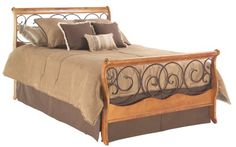 Dunhill Autumn Brown/Honey Oak Bed King Fashion Bed http://www.amazon.com/dp/B000HRWYLO/ref=cm_sw_r_pi_dp_9keHwb0EQQKH3