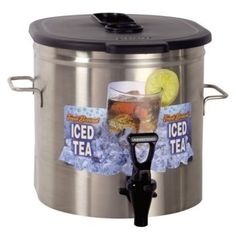 Bunn TDO-3.5 3.5 Gallon Iced Tea Dispenser - Low Profile (Bunn 37100.0000) *** You can get more details by clicking on the image.
