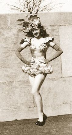 Rockette at Radio City Music Hall in the 1940s