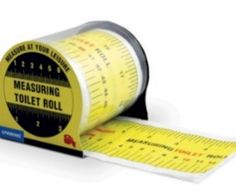 There are lots of scenarios where you might need a measuring tape in the bathroom. You can measure the window for new curtains or of course measure your poop and penis. What you do in the bathroom is nobody's concern but your own. This toilet paper is a funny gag gift that will make people smile.