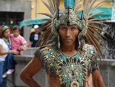 Aztec Dancer in Tlaxcala