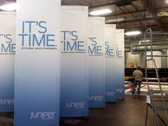 custom trade show display towers.  Ask a Question: http://shoptrigadisplays.com/contact/ #towers #tradeshow