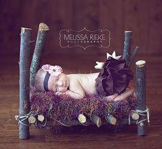 Newborn Photo Props Bed Newborns Baby Photo by NewbornPhotoProp, $75.00
