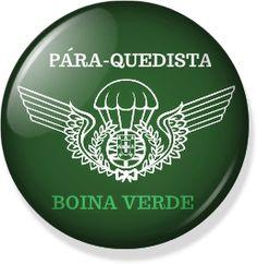 1818f7c3219 As 44 melhores imagens sobre PicBadges Boinas Verdes e Pára ...