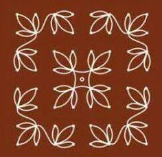 Simple 8 x 8 dot rangoli design Indian Rangoli Designs, Simple Rangoli Designs Images, Rangoli Designs Flower, Rangoli Border Designs, Small Rangoli Design, Rangoli Ideas, Rangoli Designs With Dots, Rangoli With Dots, Beautiful Rangoli Designs