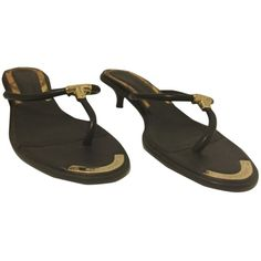 Pre-owned - Leather sandals Burberry A17P6gm