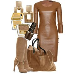 Leather on ! Polyvore, Leather, Image, Style, Fashion, Swag, Moda, Fashion Styles, Fasion