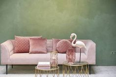 Riverdale Kussen Chelsea - oudroze - rond 40cm Pink Sofa, My Room, Surface Design, Green And Gold, Room Inspiration, Love Seat, New Homes, Room Decor, Couch