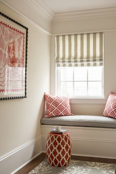 Window Seat Tangerine   design Jennifer Mehditash Www.mehditashdesign.com photo John Gruen styling Raina Kattelson