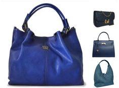 3773bc99be Beautiful blue Italian designer handbags from Attavanti