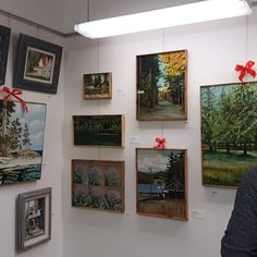 Art show at The Lincoln Gallery Eugene Oregon Eugene Oregon, Oil Paintings, Lincoln, Oil On Canvas, Gallery Wall, This Or That Questions, The Originals, Frame, Outdoor