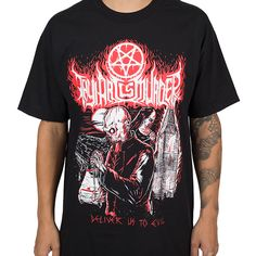 "Thy+Art+Is+Murder+""Deliver+Us+To+Evil""+T-Shirt+at+https://www.indiemerchstore.com/"