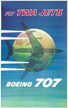 TWA Jets, Boeing 707 - TWA
