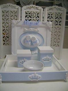kit higiene Principe | ARTE DE DECORAR | Elo7
