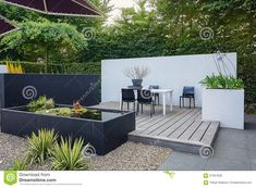 25 Modern Landscaping Ideas for 2019 [Images and Design Ideas!] design beleuchtung, 25 Modern Landscaping Ideas for 2019 [Images and Design Ideas! Garden Design Plans, Modern Garden Design, Contemporary Garden, Landscape Design, Landscaping With Rocks, Modern Landscaping, Backyard Landscaping, No Grass Backyard, Backyard Patio Designs