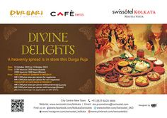Usher in Durga Puja with festive offerings in both Cafe Swiss and Durbari