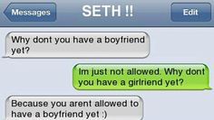 Awwwwwwww!!!!!!<<< I'm not allowed but the guy who liked me just got mad that I had to reject him