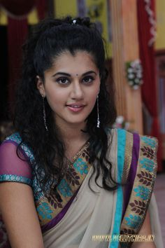 Taapsee Pannu in Saree