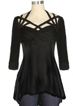 Top Chic Star design by Amber Middaugh and Julie Rojas #gothicfashion,