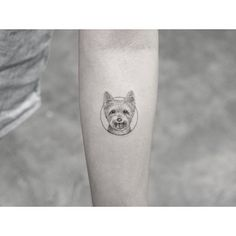Mini Tattoos, Dog Tattoos, Animal Tattoos, Body Art Tattoos, Piercing Tattoo, Piercings, Atlanta Tattoo, Puppy Tattoo, Yorkshire Terrier