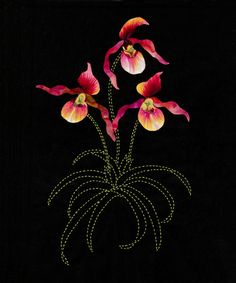 Lady Slippers by Sylvia Pippen