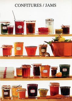 Confitures / Jams (Nouvelles Images, France) | Katya | Flickr