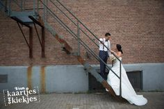 Stoere bruidsreportage Rotterdam