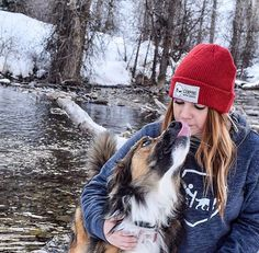"10.5k Likes, 40 Comments - Camping With Dogs® (@campingwithdogs) on Instagram: ""Our wool beanies are back in stock!! Shop now at [link in bio]. #campingwithdogs @mirandashea24"""