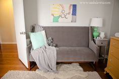 Gender Neutral Nursery // Yellow, Mint, Grey Chevron » Casa de Lewis