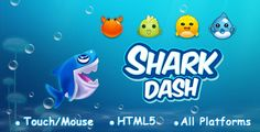 Shark Dash now live on the GameZBoost platform. Play Shark Dash 3 in a Row / Bubble Shooter Game, clear the fish of the same type and color. Full details can be found in the Game Review: https://gazuma.com/news/article/shark-dash-bubble-shooter-3-in-a-row-game