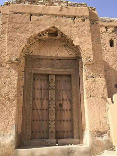 Traditional Omani Doors