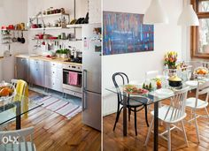 kuchnia i jadalnia w stylu skandynawskim