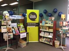Law Week 2016.  Display at Campbelltown Library