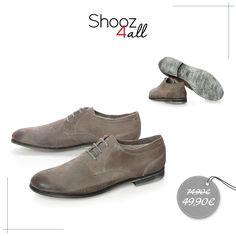Ανδρικά παπούτσια δετά από γνήσιο δέρμα άριστης ποιότητας. Σε ιδιαίτερα γκρίζα απόχρωση, θα χαρίσουν στις εμφανίσεις σας δυναμικό στυλ! http://www.shooz4all.com/el/andrika-papoutsia/antrika-papoutsia-deta-gri-a073-100-detail #shooz4all #sales #andrika