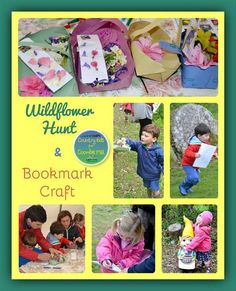 Wildflower Hunt and Bookmark Craft