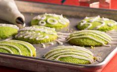 Coconut Pandan Cookies