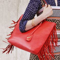 Fringe focus: make your move with the Sutra Ready To Go tote http://on.dvf.com/1LXQ2ZO #DVFsummer