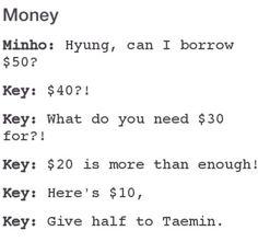 Key and Minho LOL Too funny #SHINee
