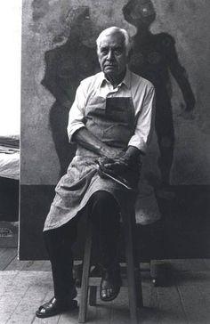 """""""Soy actual. Es la vida que está alrededor mío. Yo no pinto recuerdos, pinto lo que está sucediendo."""" —Rufino Tamayo"""
