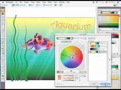 Adobe Illustrator CS4 Tutorial Video - Live Color