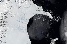 NASA Earth Observatory January 2002 Collapse of the Larssen Ice Shelf