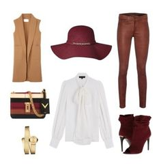 """Chic"" by kitty-cristina ❤ liked on Polyvore featuring Alexander Wang, Burberry, rag & bone, Barbara Bui, Movado and Valentino"